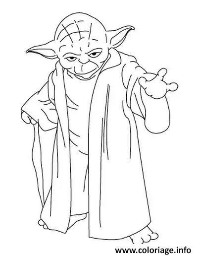Coloriage comment dessiner yoda tutoriel - Dessin a dessiner ...