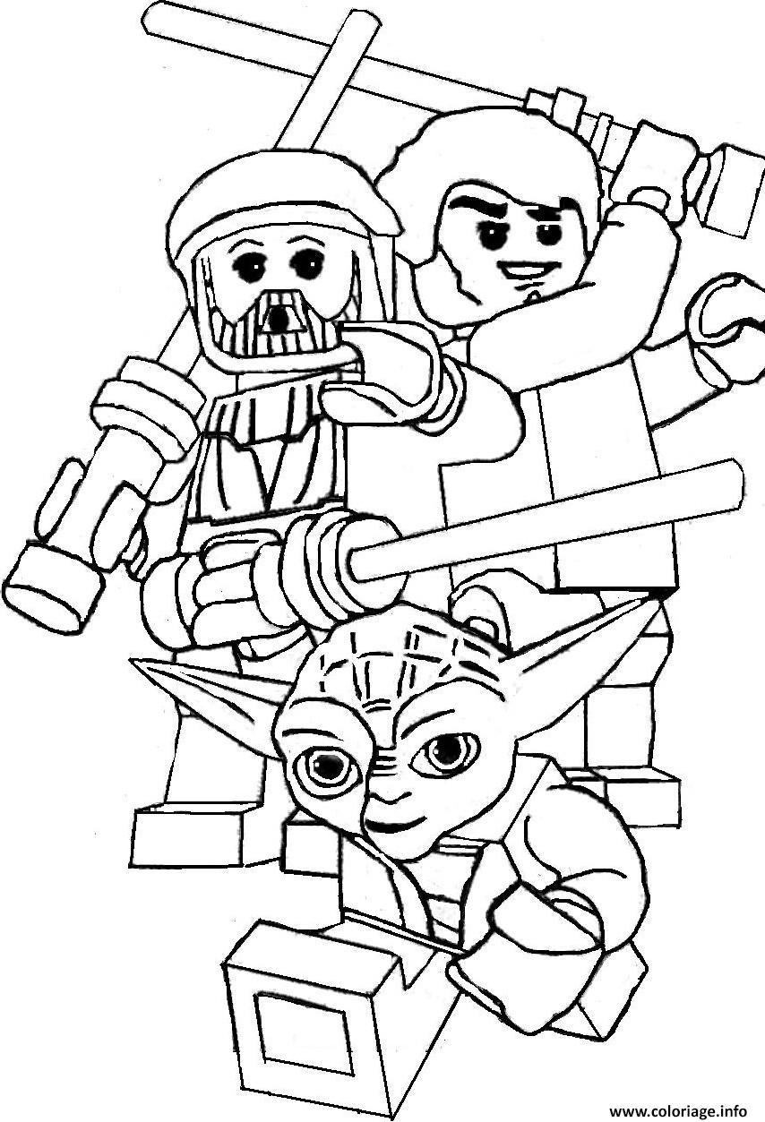 Coloriage lego star wars yoda dessin - Dessin lego star wars ...