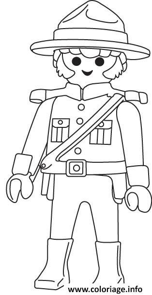 playmobil police coloriage