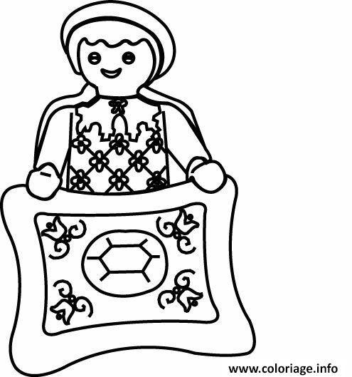 Coloriage playmobil bouffon dessin - Playmobil coloriage ...