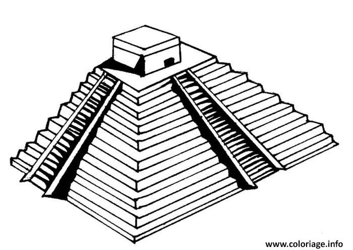 Coloriage playmobil egypte dessin - Dessin de pyramide ...