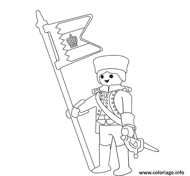 Coloriage playmobil soldat dessin - Dessin de soldat ...