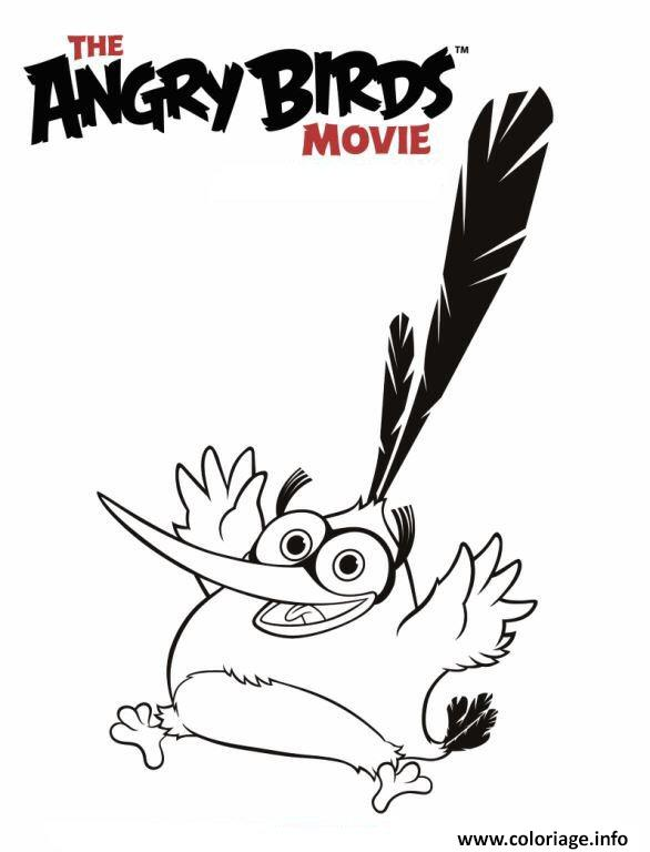 Coloriage Angry Birds Le Film 2 Dessin Angry Birds A Imprimer