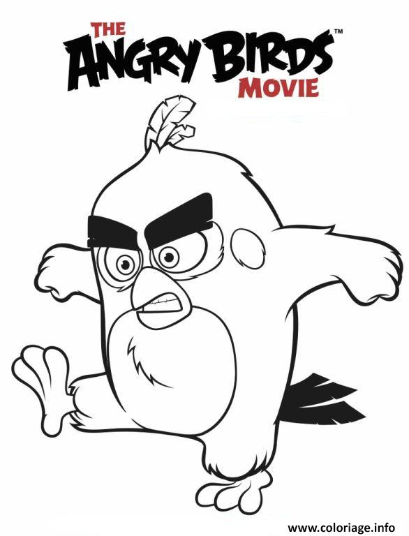 Coloriage angry birds le film dessin - Coloriage angry birds ...
