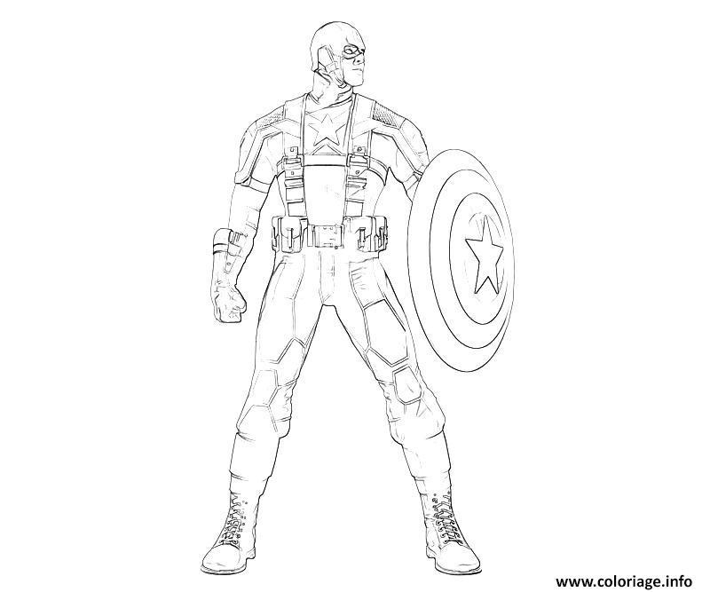 Coloriage colorier captain america 276 dessin - Jeux de captain america gratuit ...
