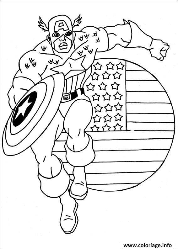 Coloriage colorier captain america 3 dessin - Jeux de captain america gratuit ...