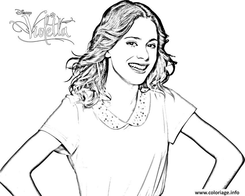 violetta coloring pages - photo#18