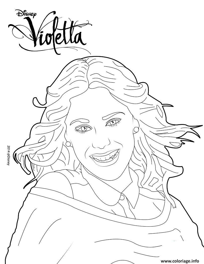 Coloriage violetta fait un shooting photo dessin - Photo de violetta a imprimer ...