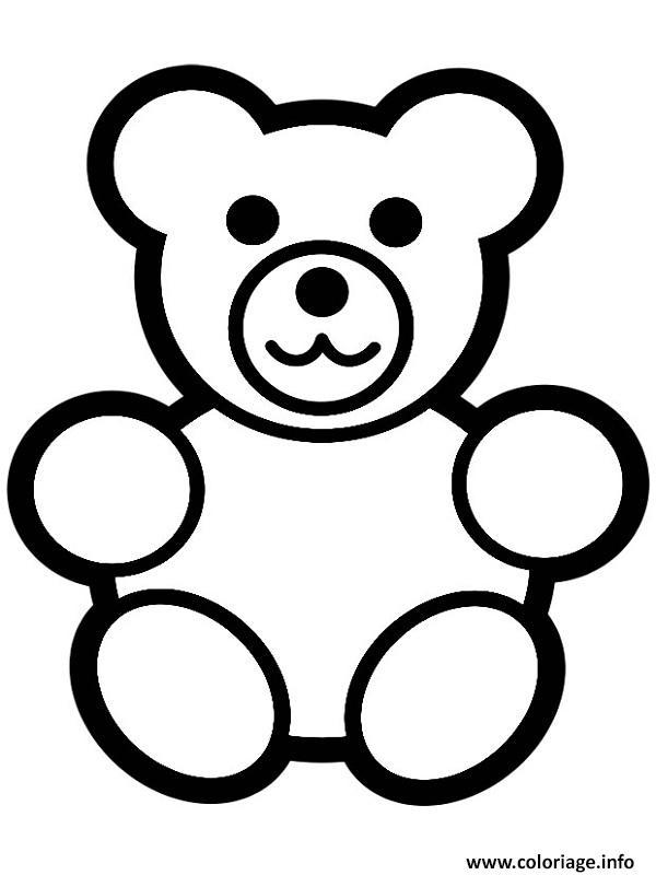 Coloriage ours dessin - Dessin d un ours ...