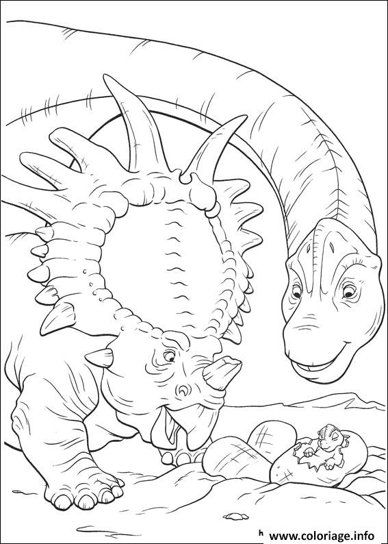 Coloriage Dinosaure Gratuit 58 Dessin