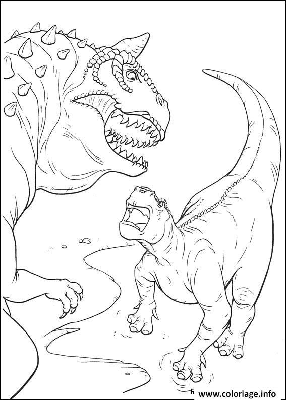 Coloriage dinosaure gratuit 51 dessin - Jurassic park gratuit ...