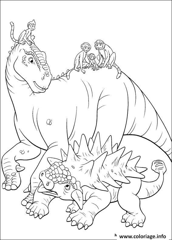 Dessin dinosaure gratuit 68 Coloriage Gratuit à Imprimer