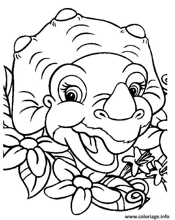 Coloriage dinosaure 88 dessin - Coloriage a imprimer dinosaure ...