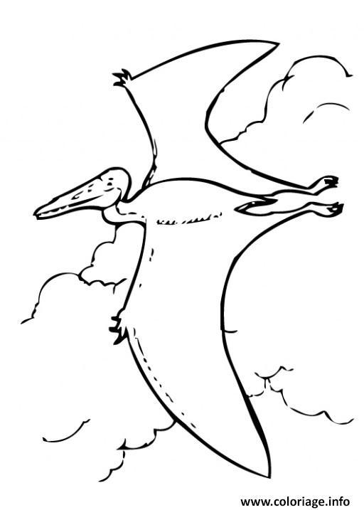 Coloriage Dinosaure 196 dessin