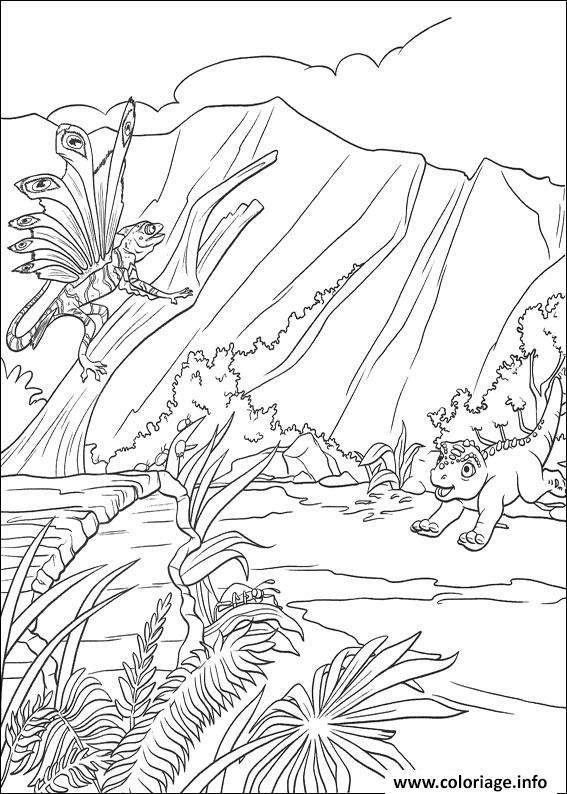 Dessin dinosaure 133 Coloriage Gratuit à Imprimer