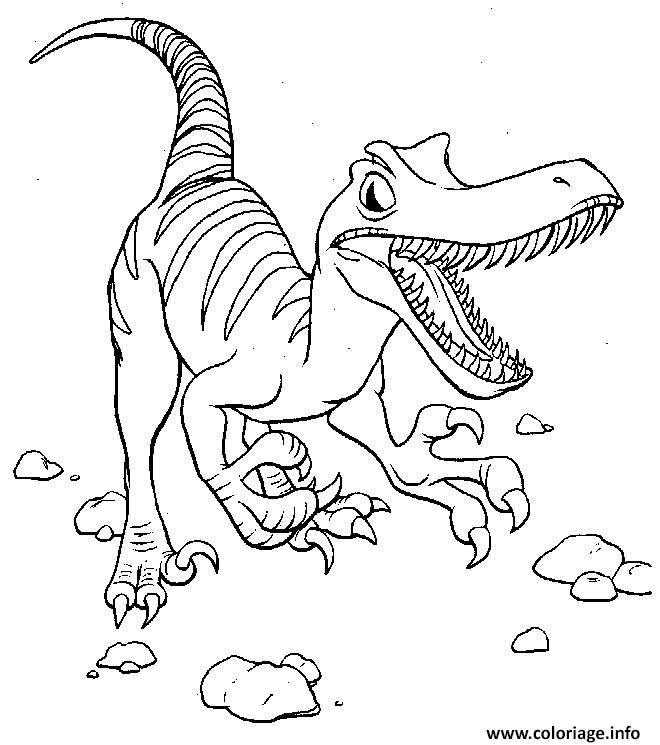Livre Coloriage Dinosaure.Coloriage Dinosaure 12 Jecolorie Com