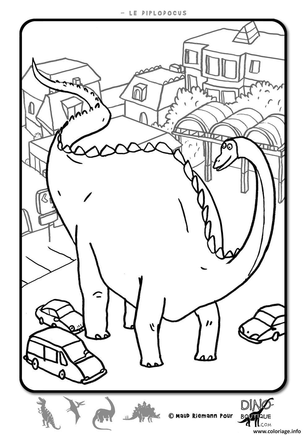 Dessin dinosaure 33 Coloriage Gratuit à Imprimer