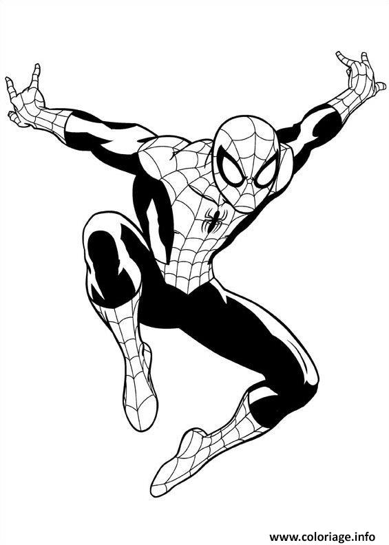 Coloriage Ultimate Spiderman 3 Dessin à Imprimer