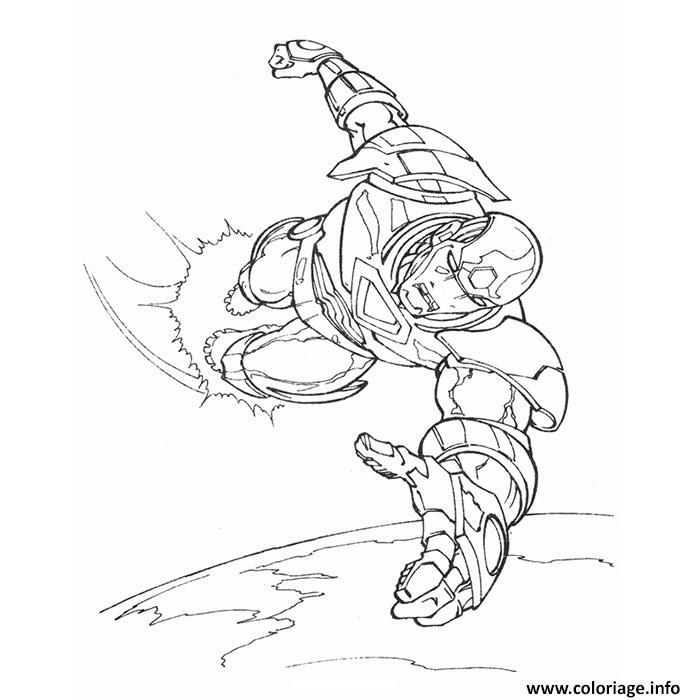 Coloriage iron man 16 dessin - Dessin de iron man ...