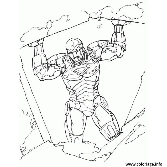 Coloriage iron man 15 dessin - Coloriage de iron man ...