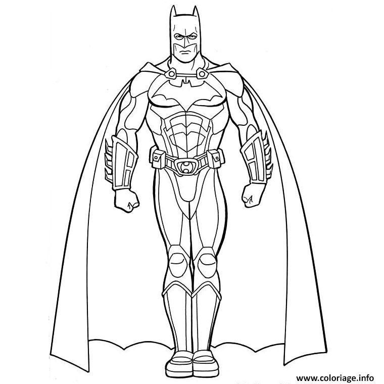 Coloriage Batman Ami De Iron Man Dessin Iron Man A Imprimer