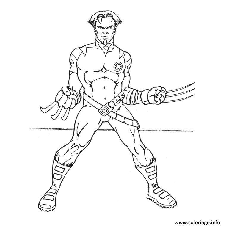 coloriage iron man 118 dessin imprimer - Coloriage Iron Man