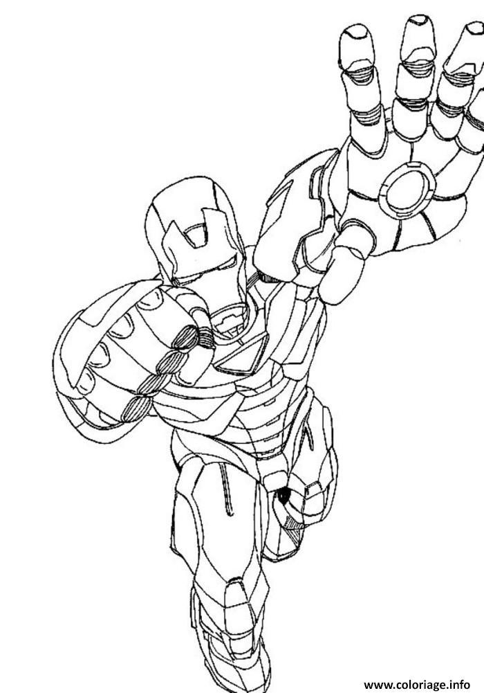 Coloriage Avengers 76 dessin