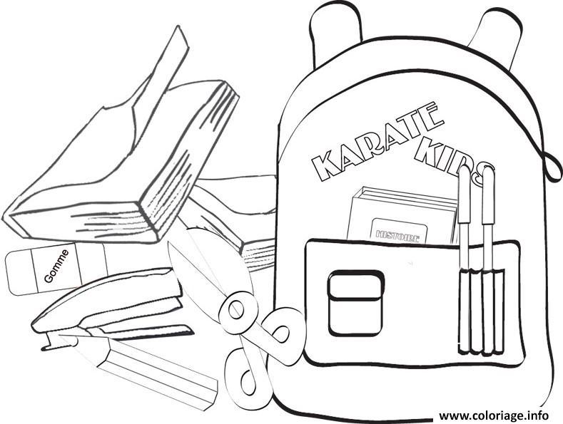 Coloriage rentree maternelle livre sacados dessin - Livre maternelle gratuit ...