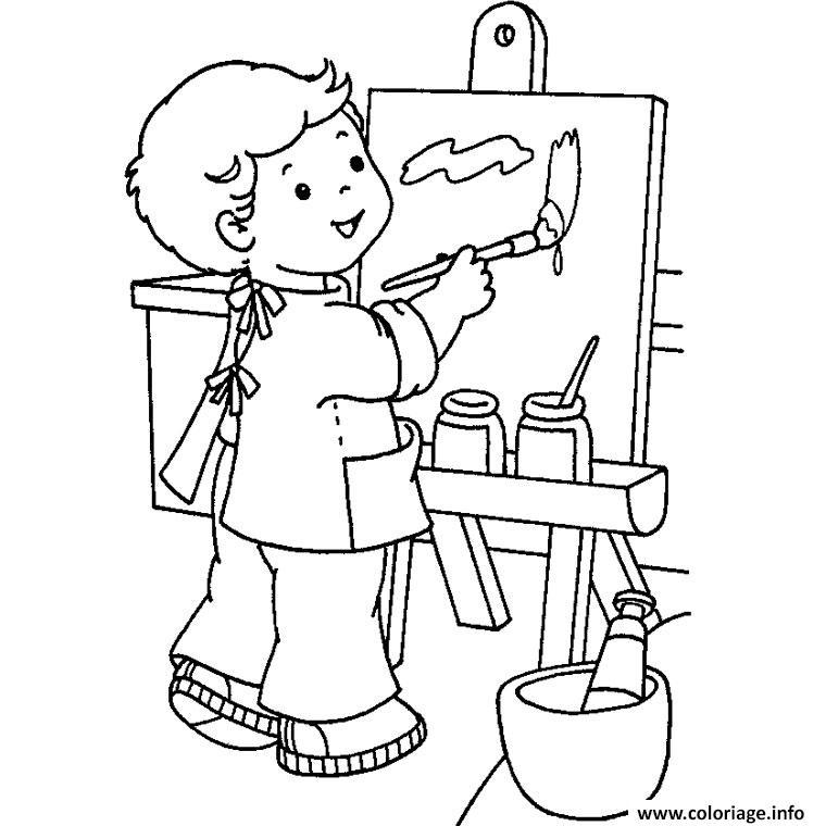 Coloriage rentree maternelle 3 dessin - Dessin classe ...
