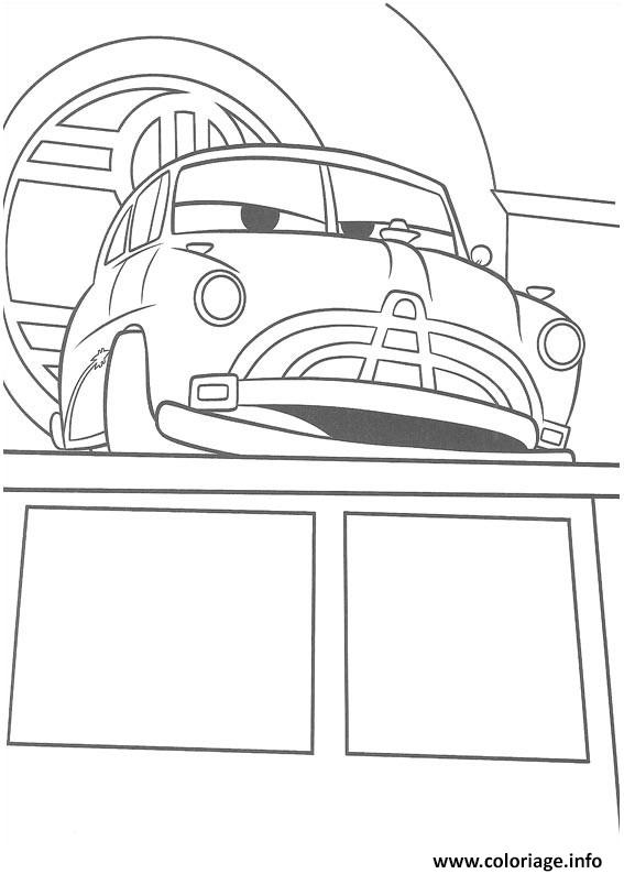Coloriage Flash Mcqueen Et Doc Hudson.Coloriage Flash Mcqueen Doc Hudson Jecolorie Com