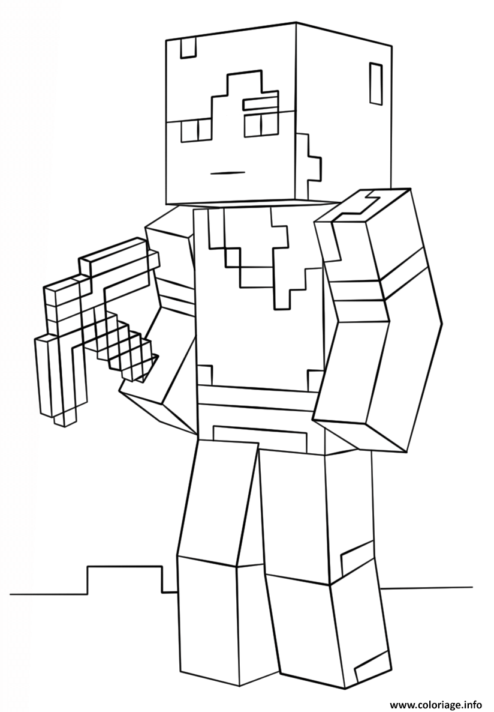 Dessin Minecraft Facile