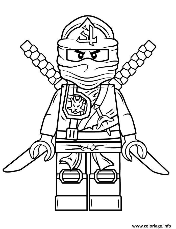 Coloriage lego ninjago vert dessin imprimer - Dessin de ninjago a imprimer ...