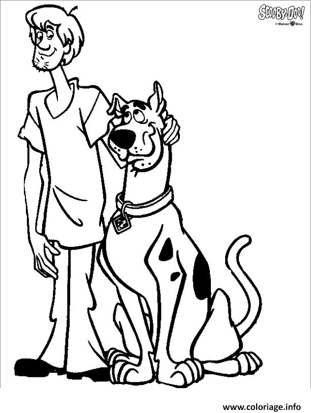 Coloriage Scooby Doo 75 dessin