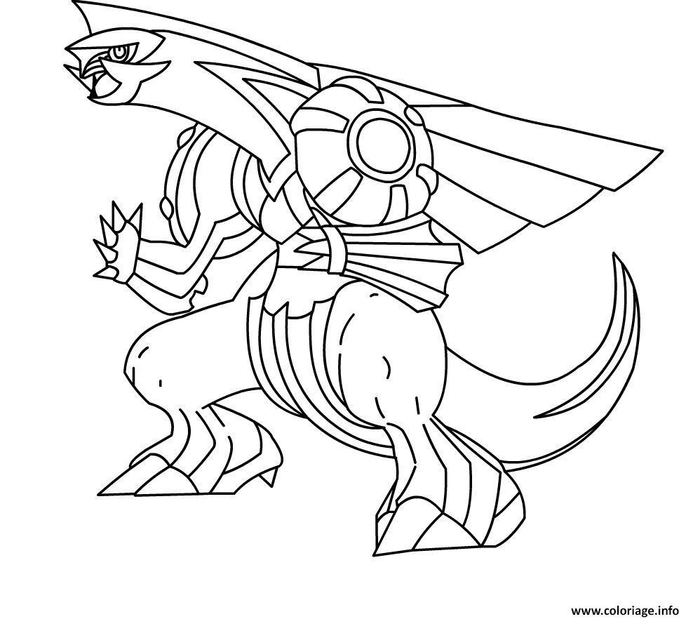 Dessin pokemon noir et blanc Coloriage Gratuit à Imprimer