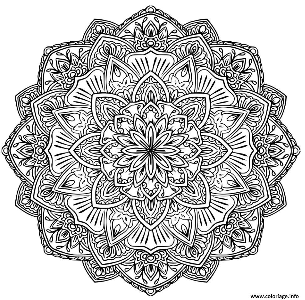 coloriage mandala adulte 2017. Black Bedroom Furniture Sets. Home Design Ideas