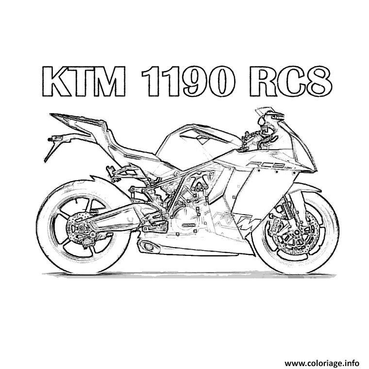 Coloriage moto 87 dessin - Moto a colorier en ligne ...