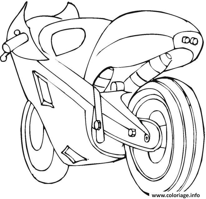 Coloriage moto de course 21 dessin - Moto a colorier en ligne ...