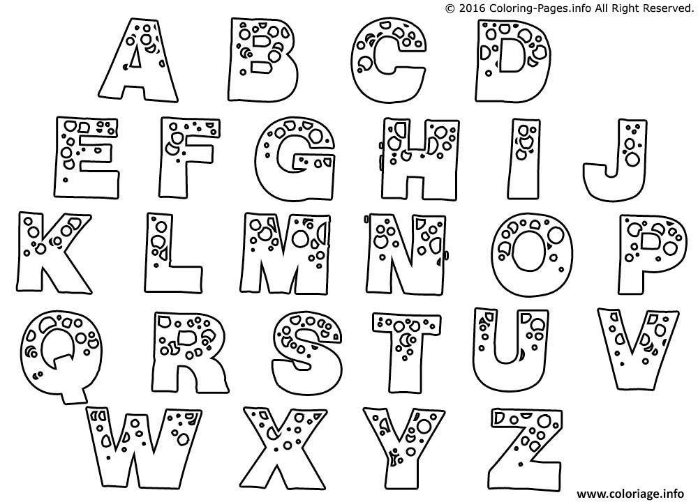 coloriage alphabet complet a imprimer dessin. Black Bedroom Furniture Sets. Home Design Ideas