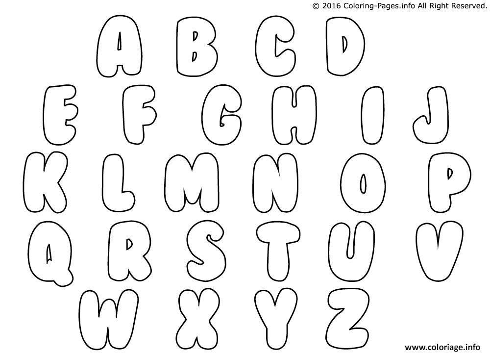 Coloriage alphabet maternelles - Alphabet coloriage ...