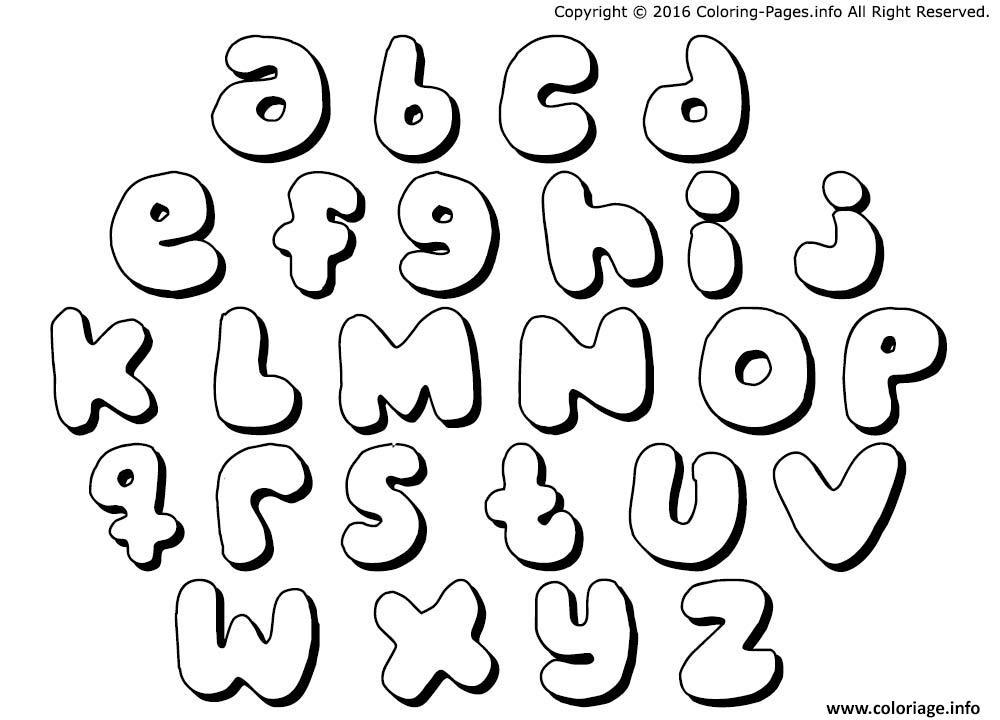 Coloriage Alphabet Maternelles Complet Dessin Alphabet A Imprimer