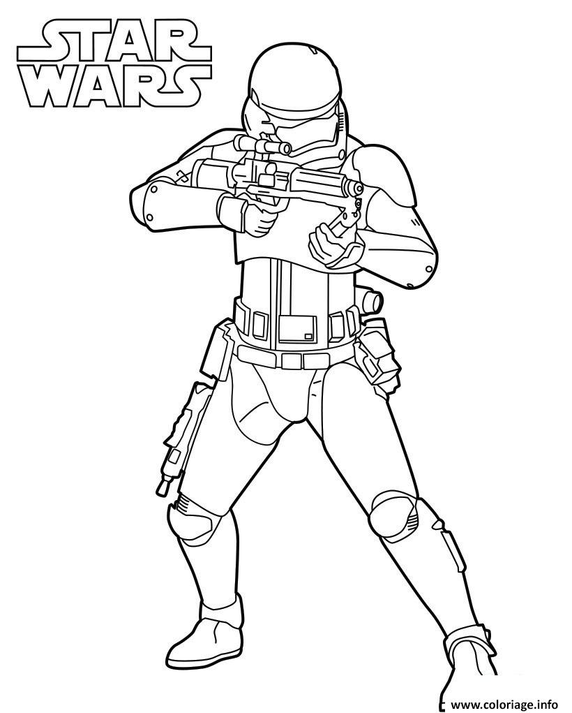 Coloriage strormtrooper star wars 7 dessin - Coloriage magique star wars ...