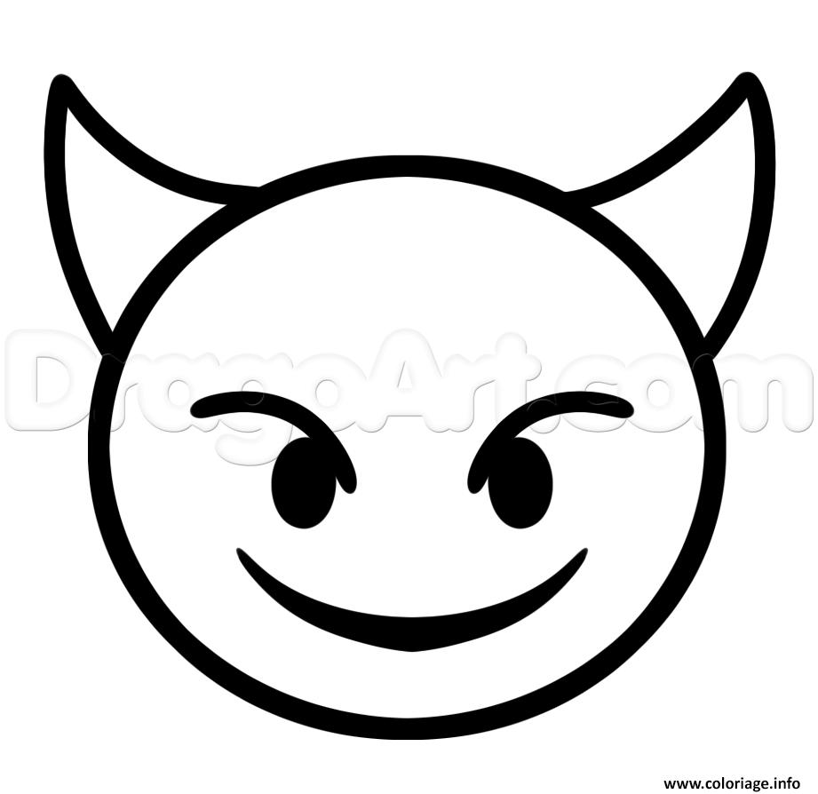 Coloriage Emoji Caca Licorne Bondless