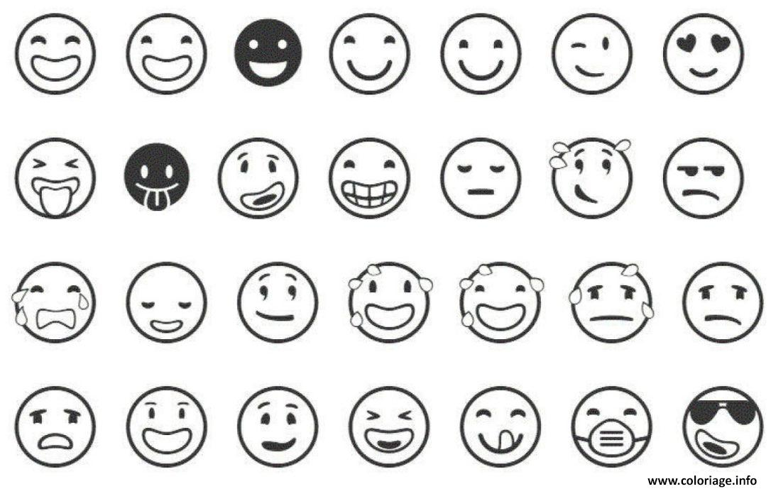 Coloriage Emoji Licorne A Imprimer Bondless