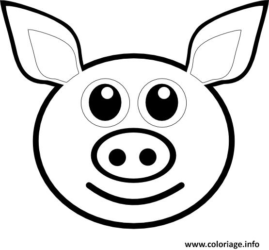 coloriage emoji dessin à imprimer gratuit