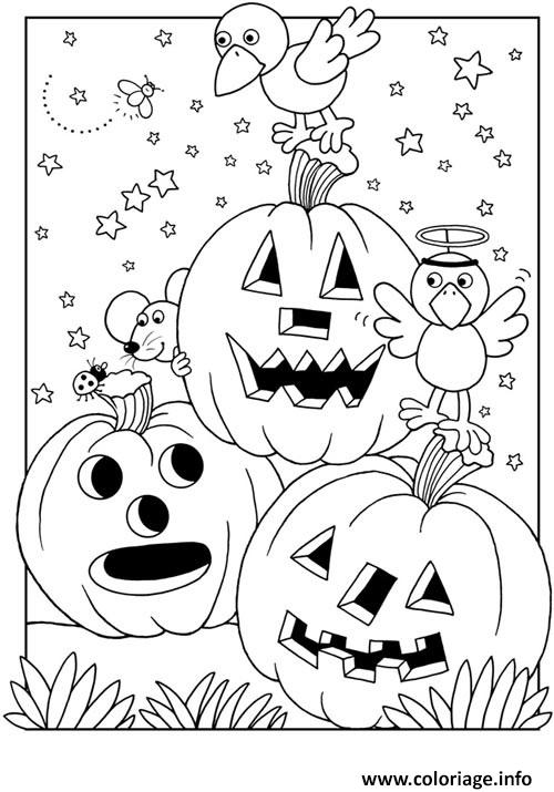 coloriage citrouille halloween gratuit. Black Bedroom Furniture Sets. Home Design Ideas