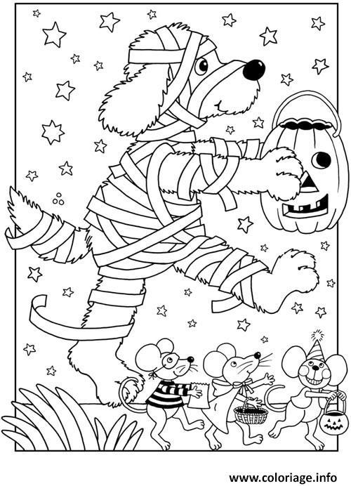 Dessin halloween enfant Coloriage Gratuit à Imprimer
