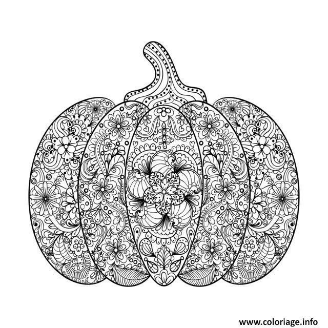 Coloriage Emoji Difficile.Coloriage Halloween Adulte Difficile Citrouille Fleurs Dessin