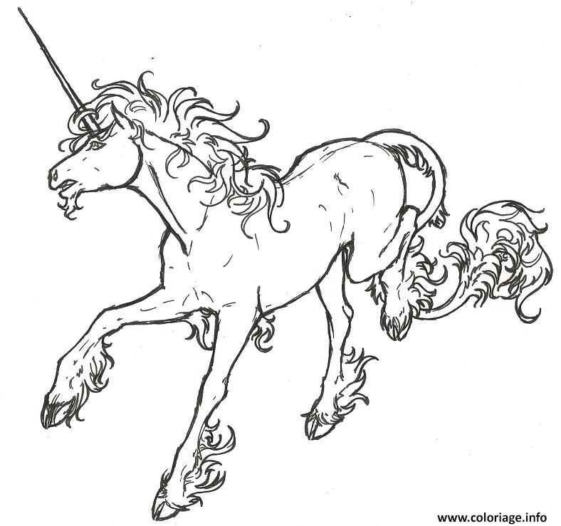 Dessin licorne dessin mignon 71 Coloriage Gratuit à Imprimer