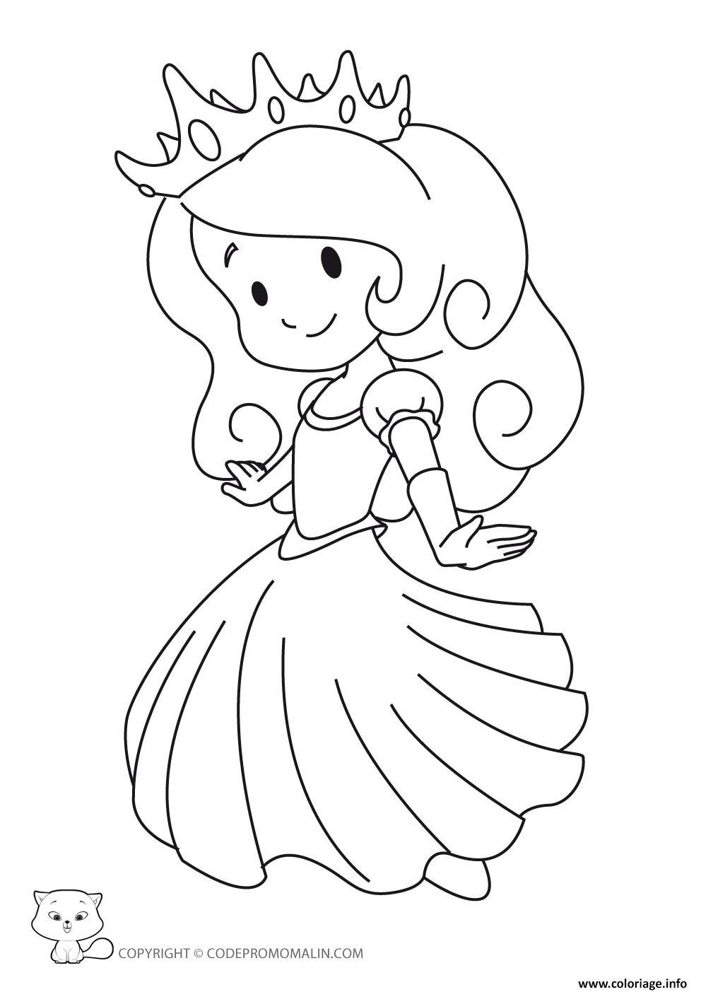 Coloriage Disney Princesse 60 dessin