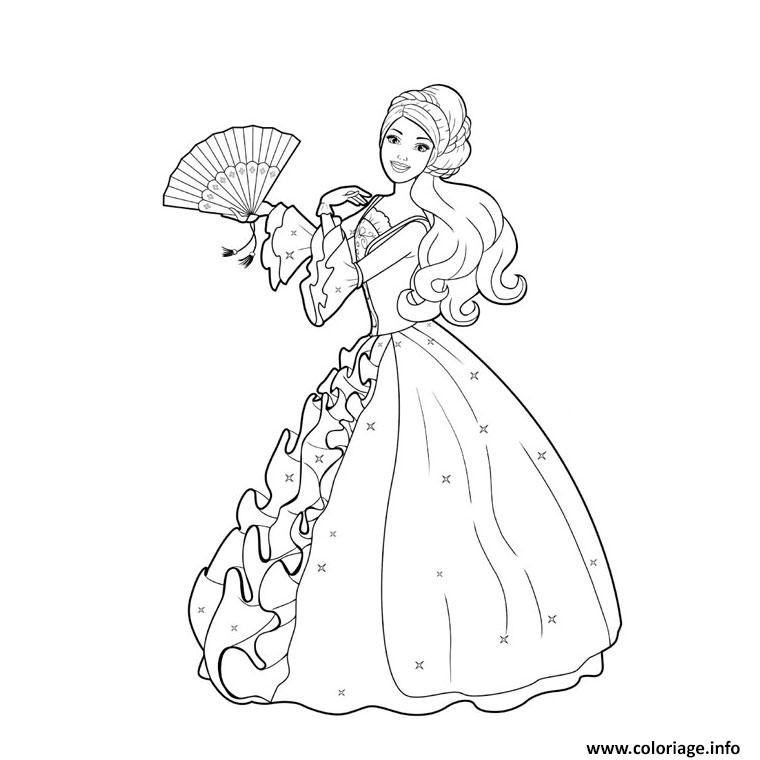 coloriage de disney princesse 69